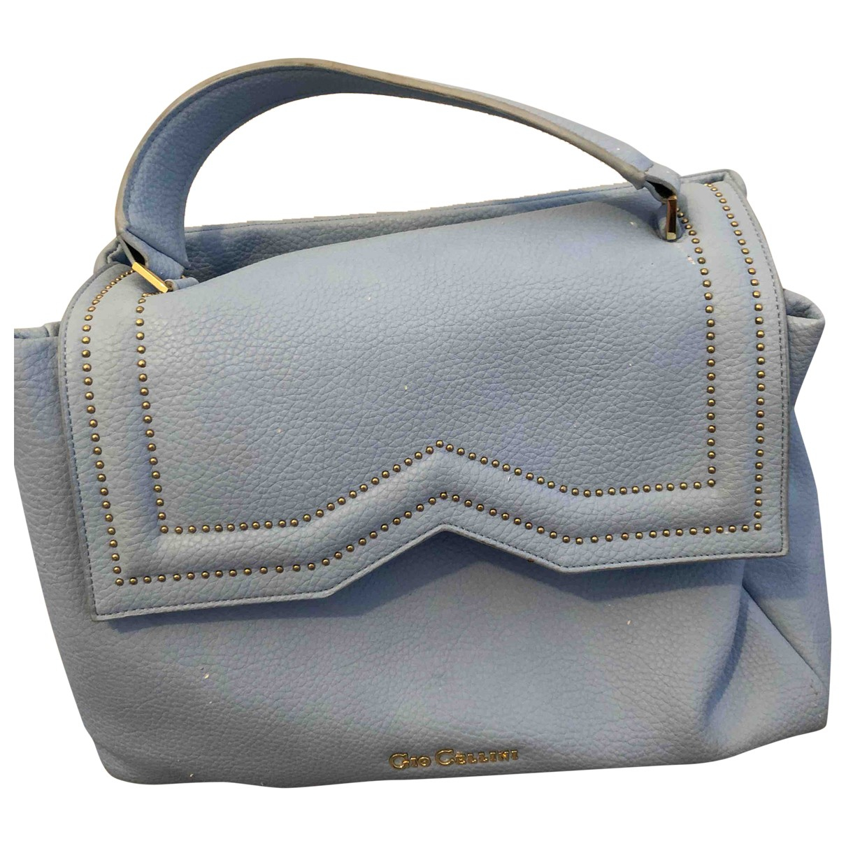 Non Signé / Unsigned \N Blue Leather handbag for Women \N