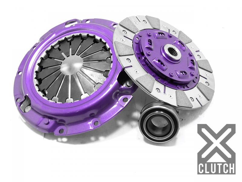 XClutch XKMI23024-1C Clutch Kit Stage 2 Single Cushioned Ceramic Clutch Disc