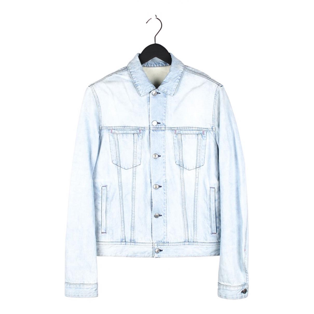 Acne Studios N Blue Cotton jacket  for Men M International