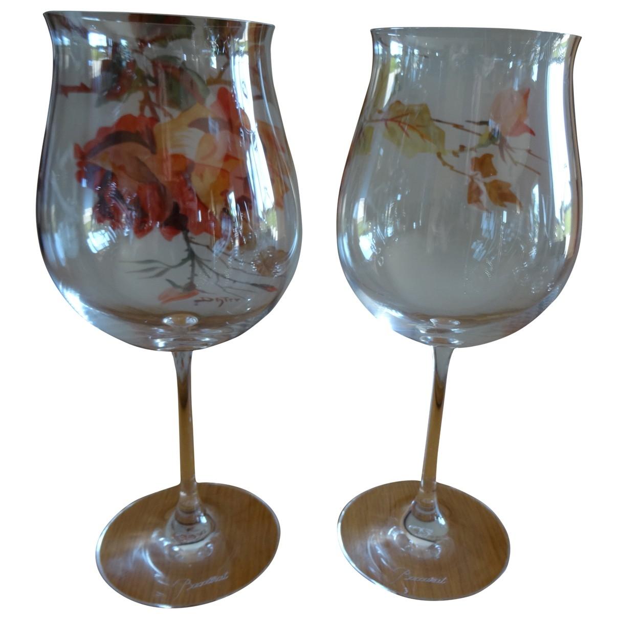 Baccarat - Arts de la table   pour lifestyle en verre - blanc