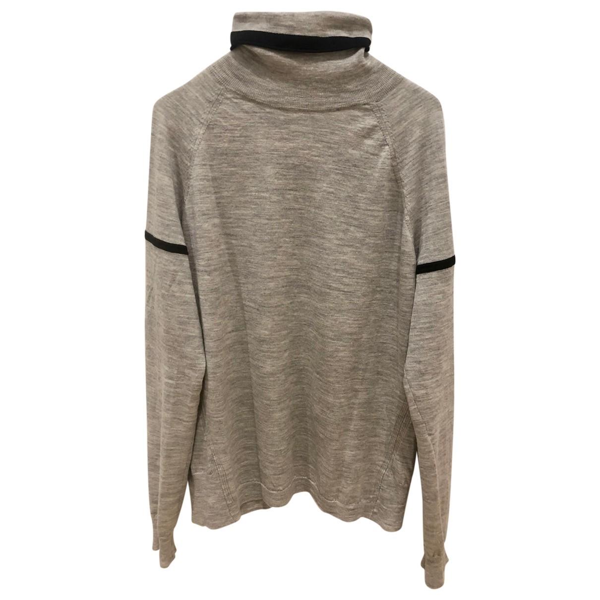 J Brand - Pull   pour femme en laine - gris