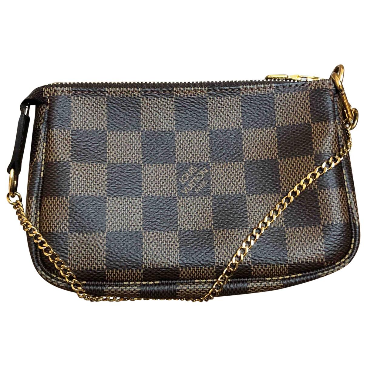 Louis Vuitton Pochette Accessoire Cloth Clutch bag for Women N