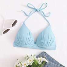 Dreieckiges Bikini Top mit Neckholder
