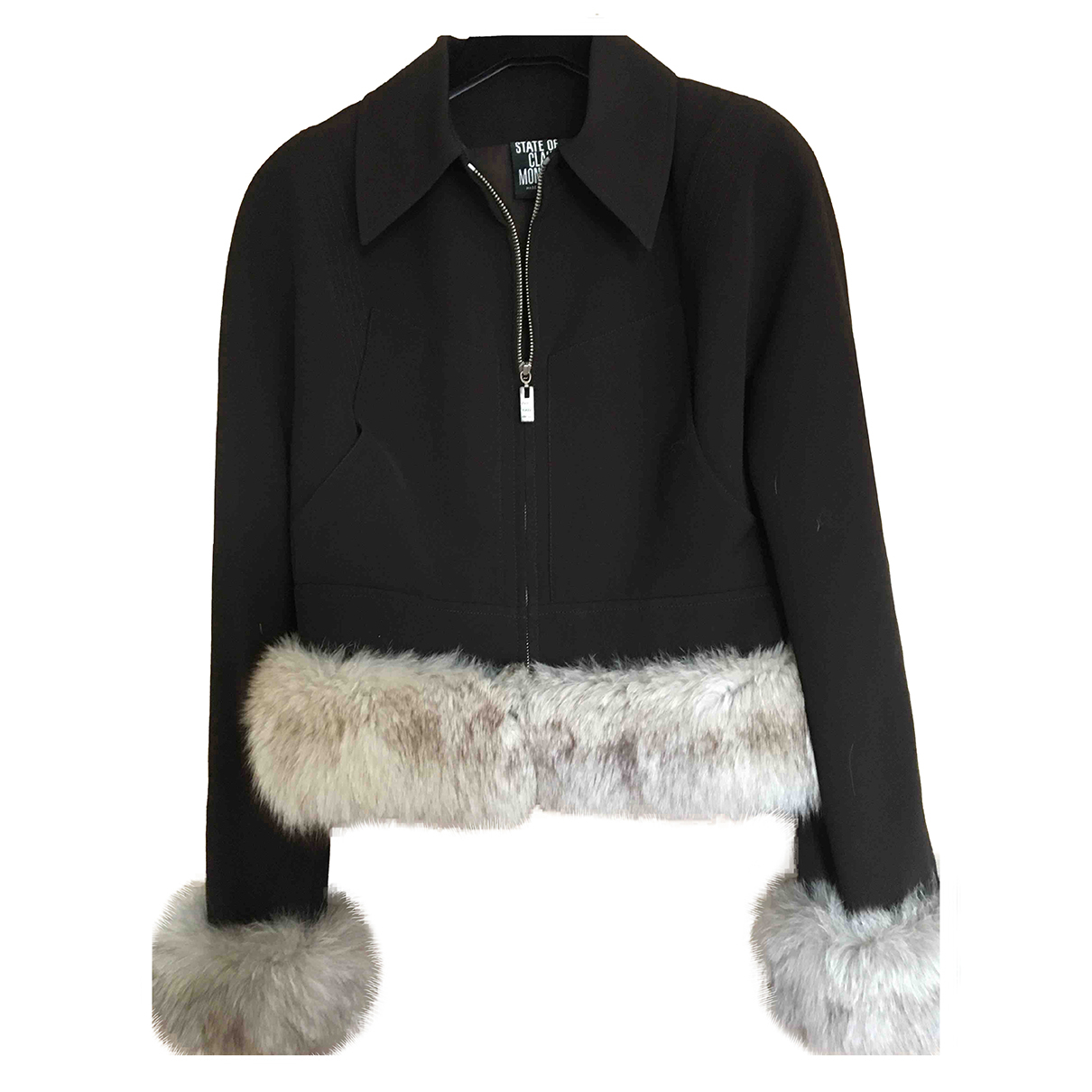 Claude Montana \N Brown jacket for Women 40 FR