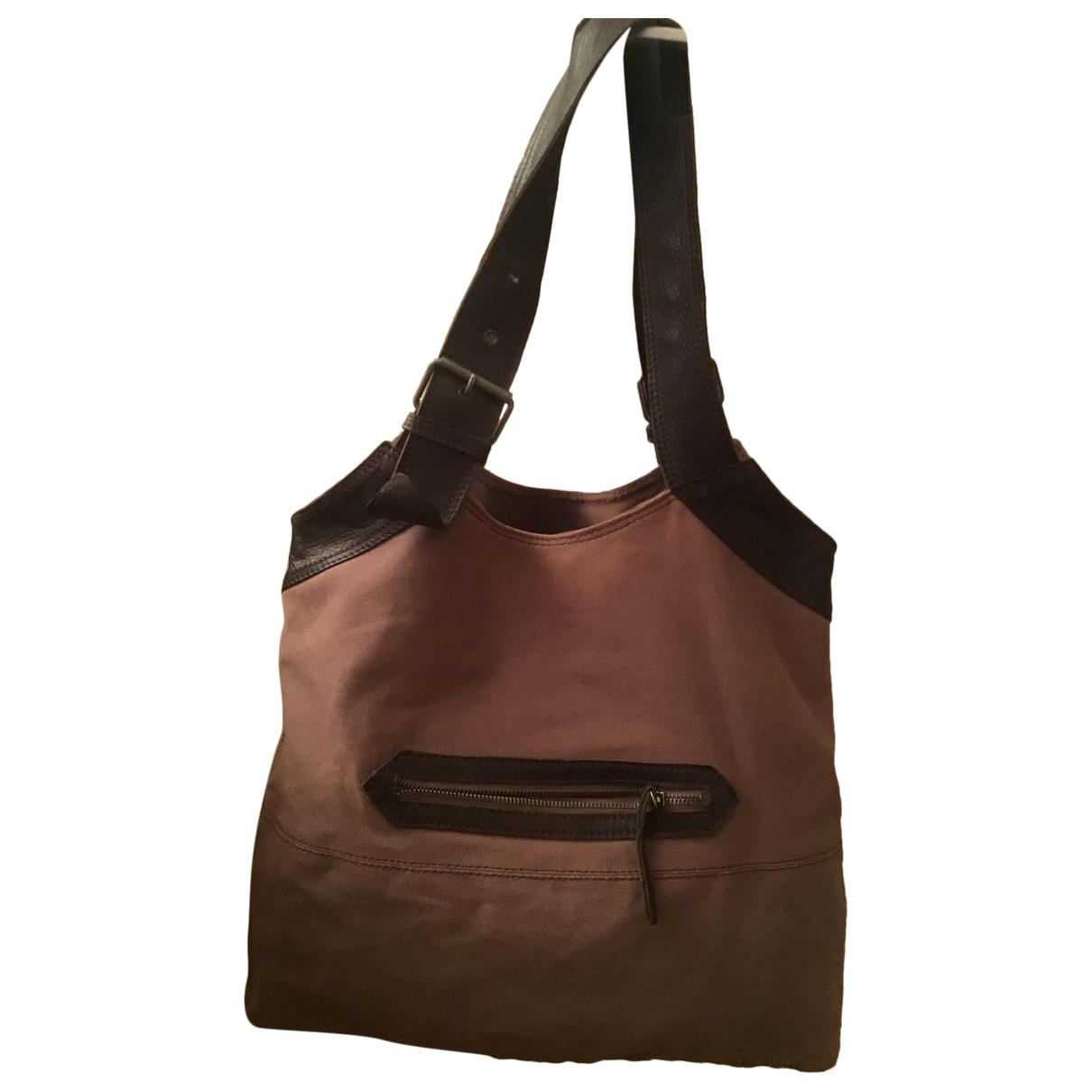 Comptoir Des Cotonniers \N Brown Cotton handbag for Women \N