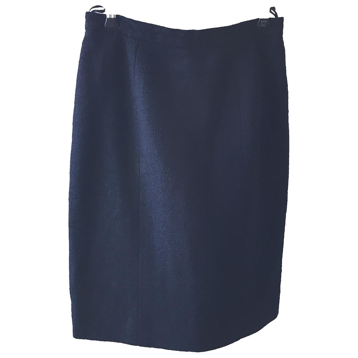 Chanel \N Rocke in  Blau Wolle