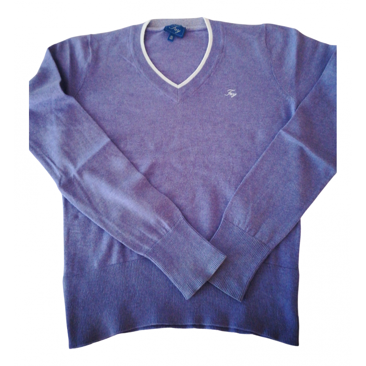 Fay N Purple Cashmere Knitwear for Kids 10 years - until 56 inches UK