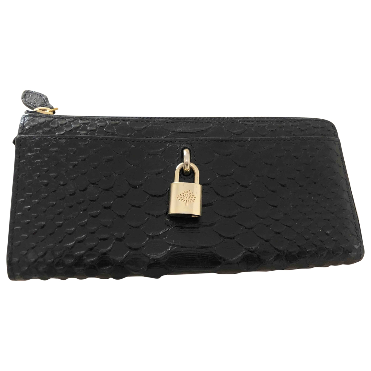 Cartera de Piton Mulberry