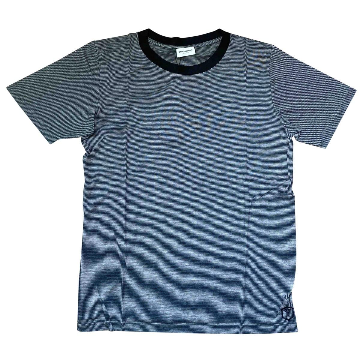 Saint Laurent \N Anthracite T-shirts for Men XS International