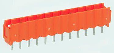 Weidmüller , OMNIMATE SL, 3 Way, 1 Row, Straight PCB Header (5)