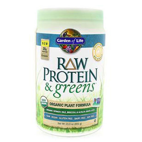 Raw Protein and Greens Chocolate 1 Tray by Garden of Life