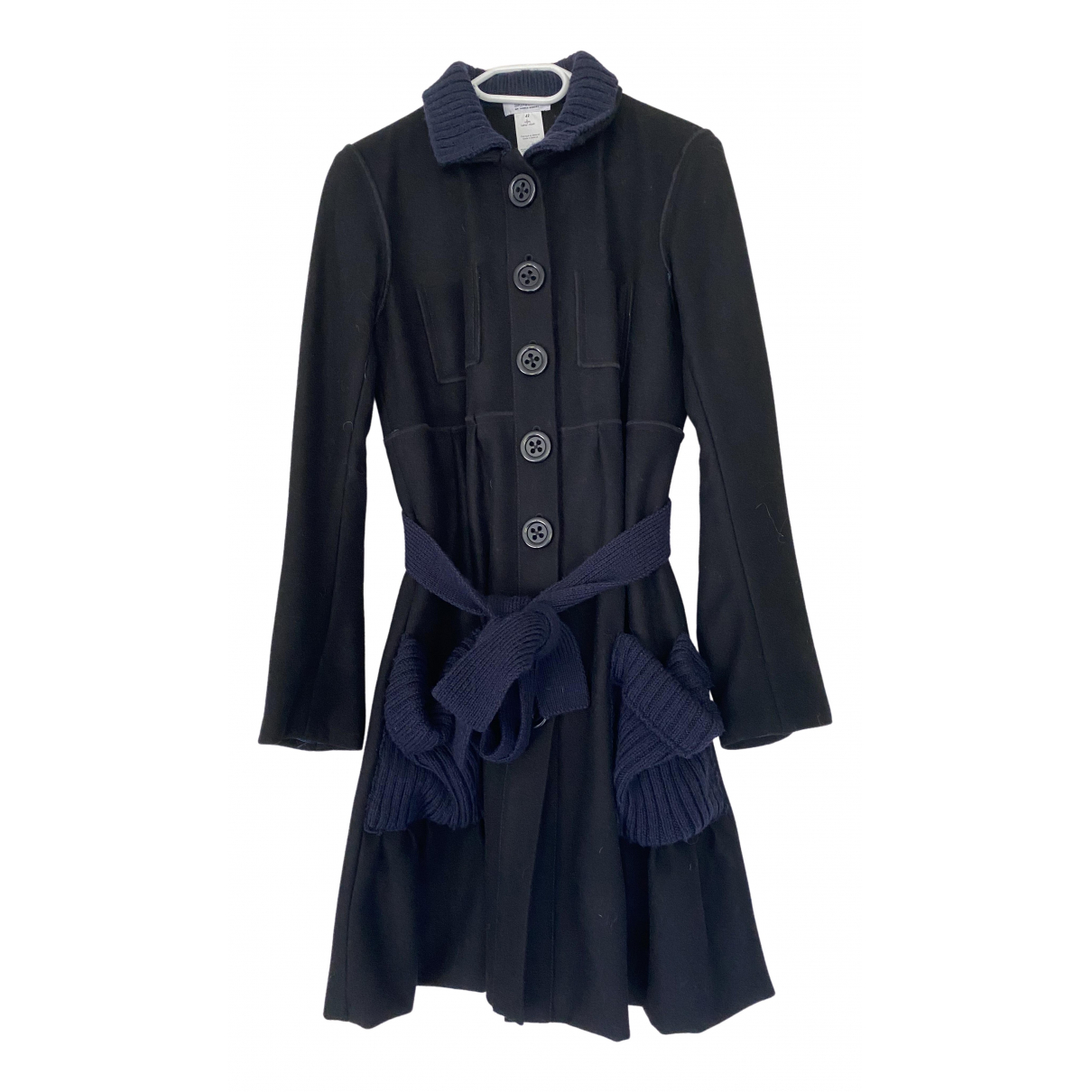 Sonia By Sonia Rykiel \N Black Wool coat for Women 42 FR
