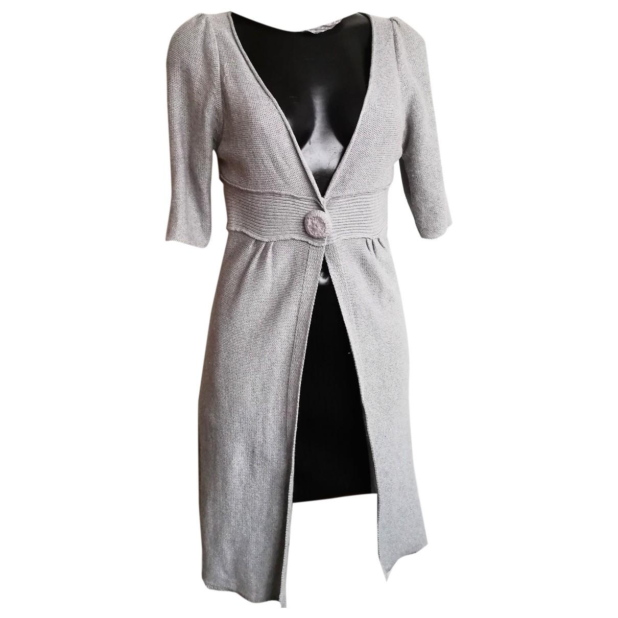 Maje \N Grey Wool Knitwear for Women 38 FR