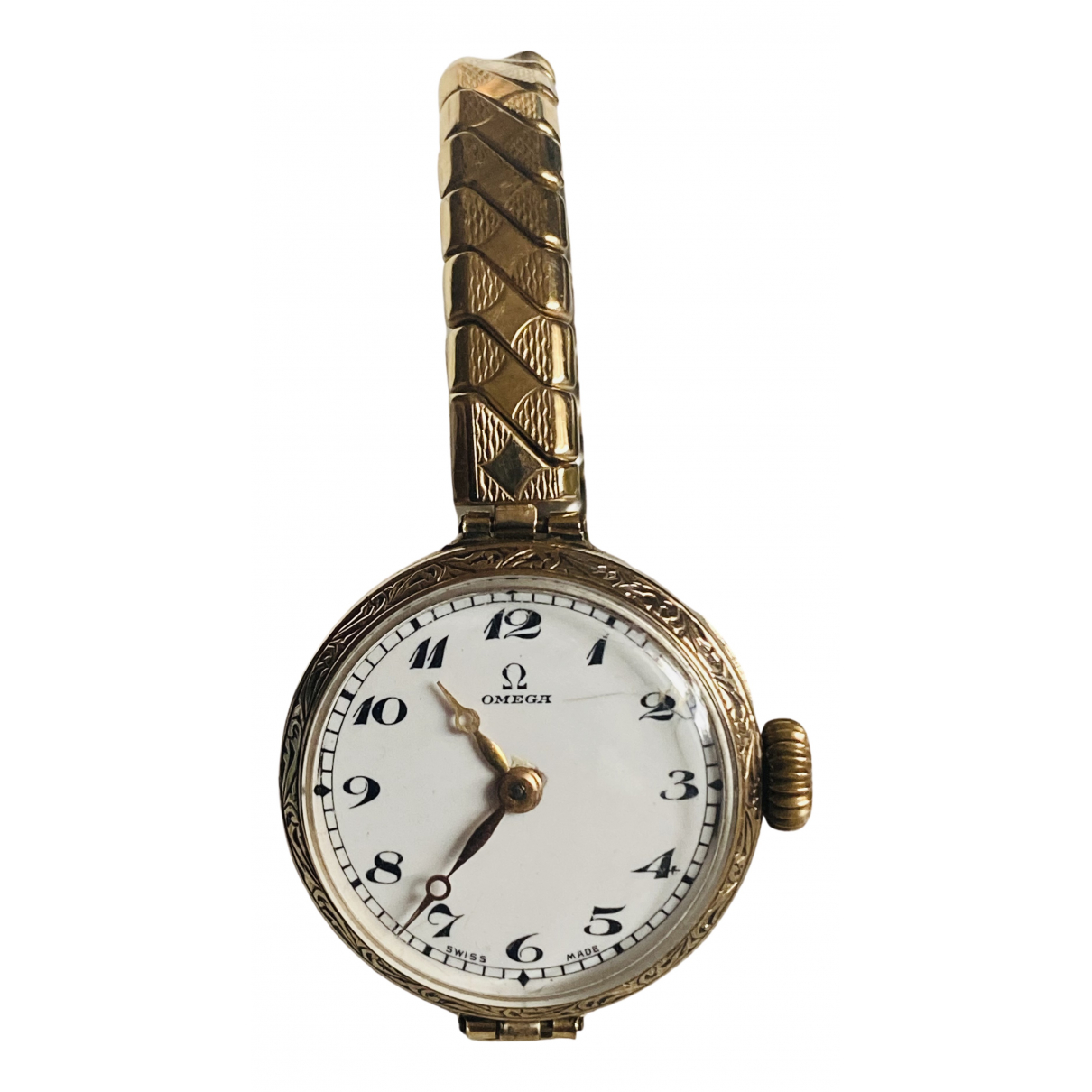 Omega N Gold Yellow gold watch for Women N