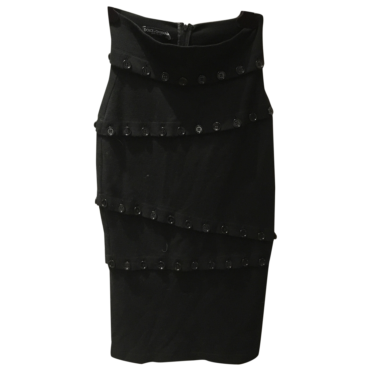 Dolce & Gabbana \N Black skirt for Women 40 IT