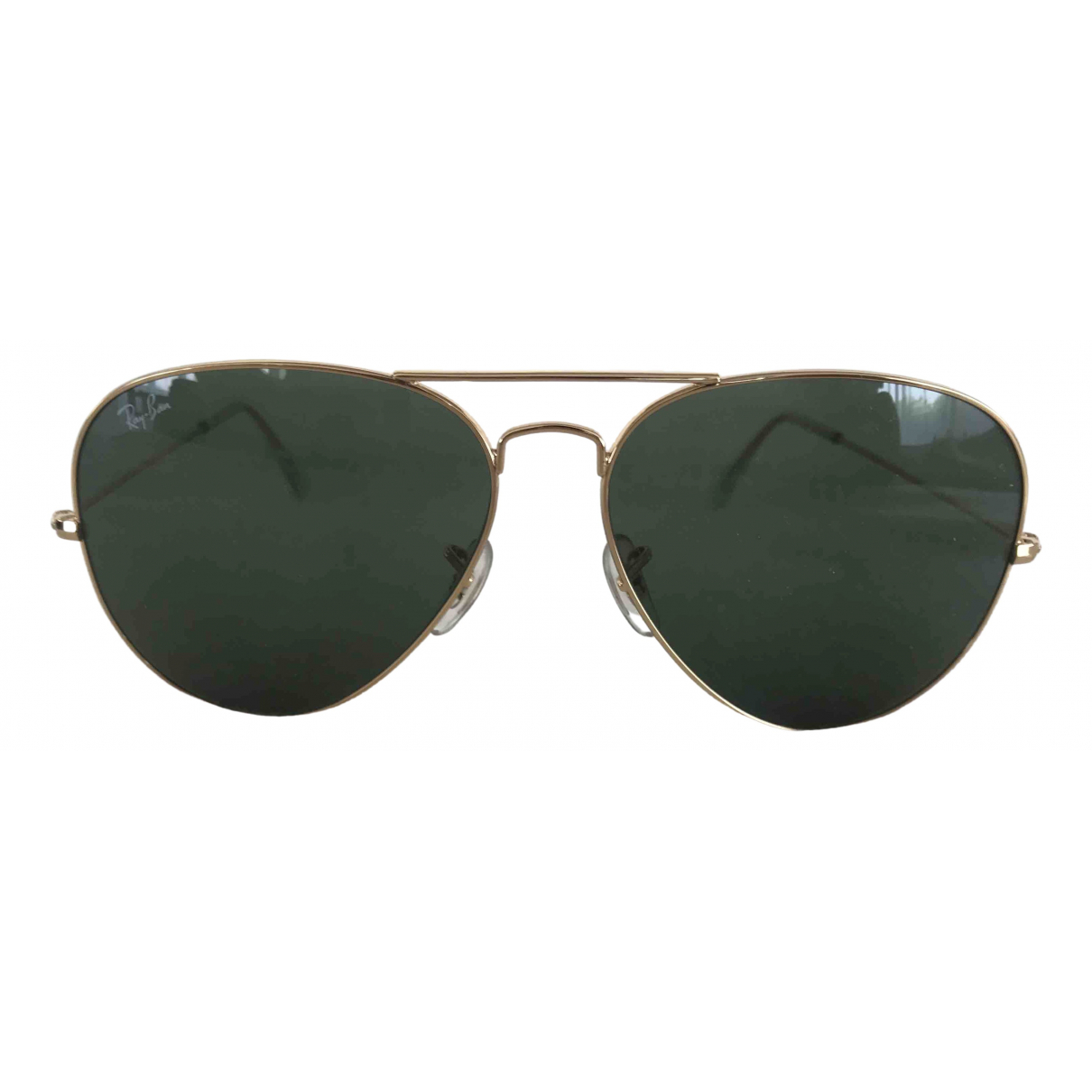 Ray-ban Aviator Black Metal Sunglasses for Men \N
