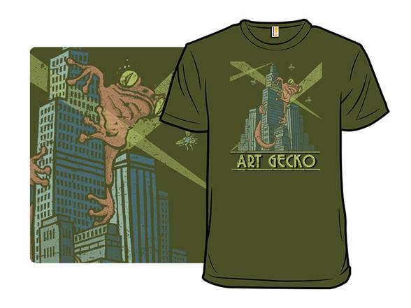 Art Gecko T Shirt