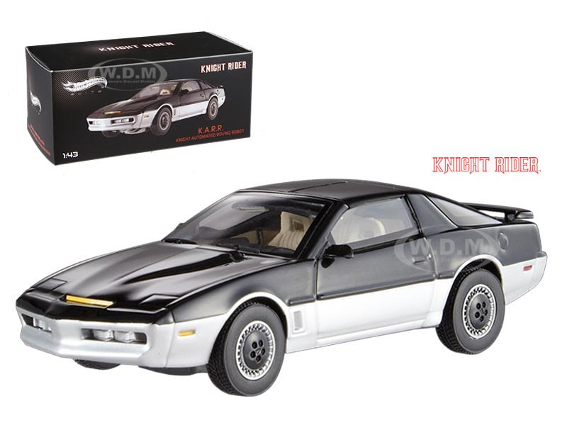 1982 Pontiac Firebird Trans Am K.A.R.R. Knight Automated Roving Robot Elite Edition 1/43 Diecast Model Car by Hotwheels