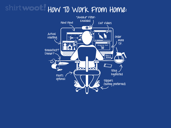 A Visual Guide To Wfh T Shirt