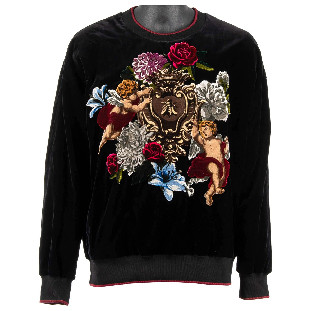 Dolce & Gabbana N Black Cotton Knitwear & Sweatshirts for Men 48 IT