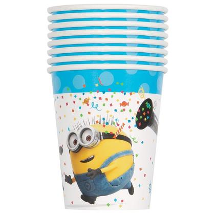 Despicable Me Minions Cups Party 9oz 8Pcs For Birthday Party