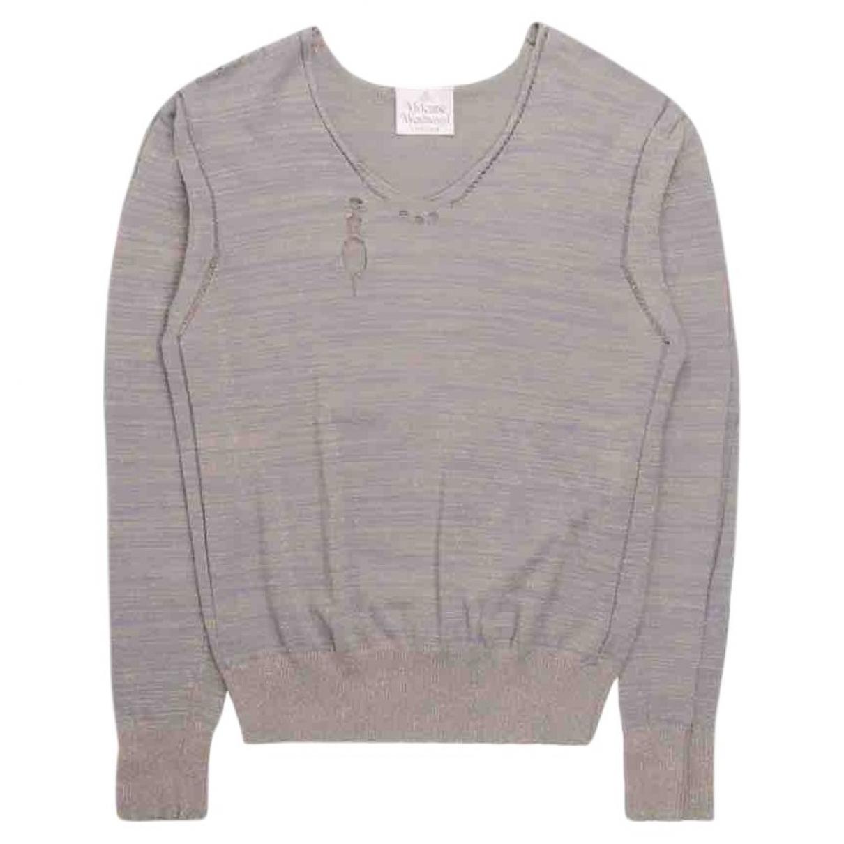 Vivienne Westwood \N Pullover in  Grau Baumwolle