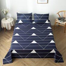 Flache Decke mit Streifen Muster