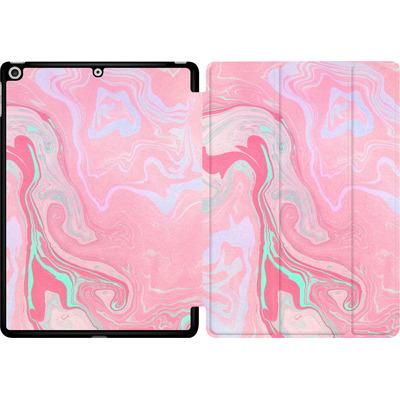 Apple iPad 9.7 (2018) Tablet Smart Case - Marbled Effect Pink von Emanuela Carratoni