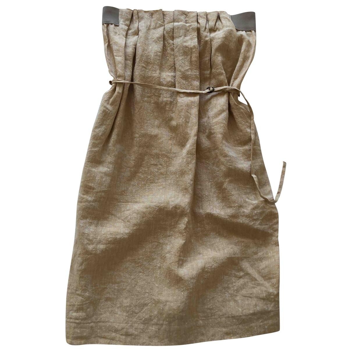 Mini vestido de Lino Maison Martin Margiela