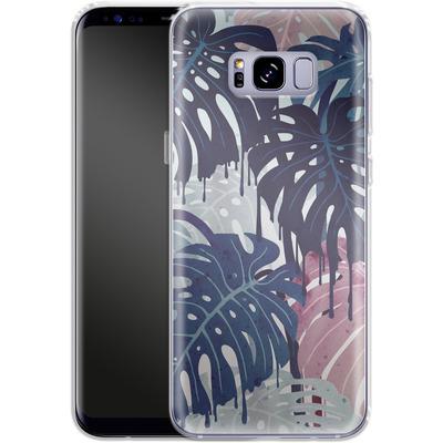 Samsung Galaxy S8 Plus Silikon Handyhuelle - Monsteramelt von Little Clyde
