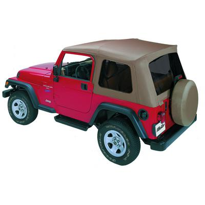 Bestop Supertop with Tinted Windows without Doors (Spice) - 54709-37