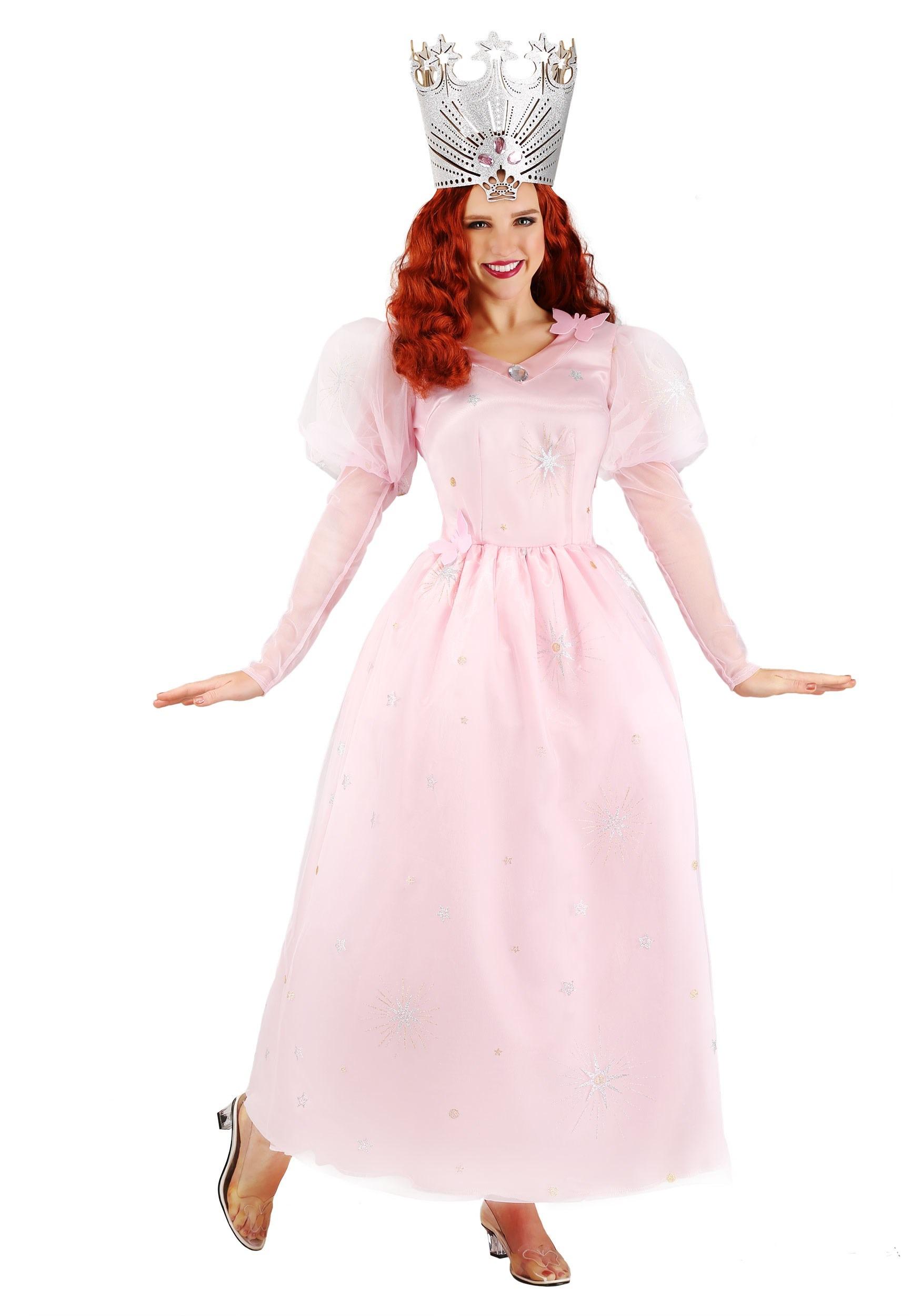 Wizard of Oz Glinda Plus Size Women's Costume