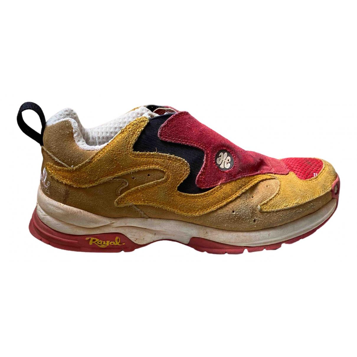 Non Signe / Unsigned \N Sneakers in  Bunt Veloursleder