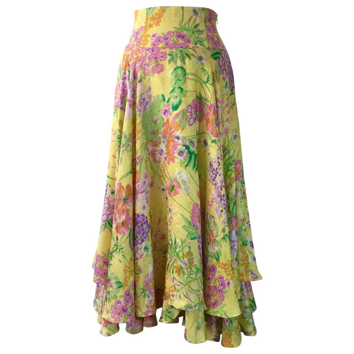 Non Signé / Unsigned \N Multicolour Silk skirt for Women S International