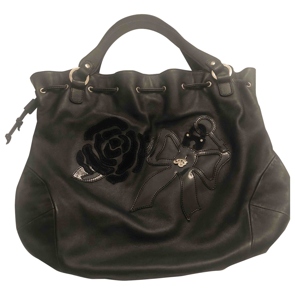 Blumarine \N Black Leather handbag for Women \N