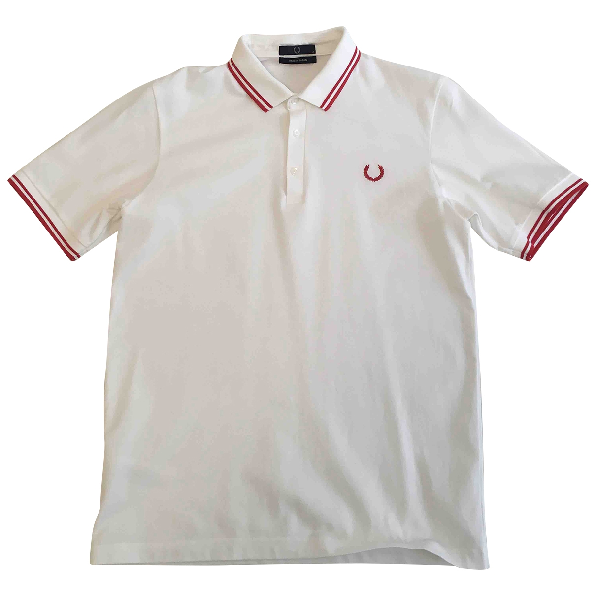 Fred Perry \N Poloshirts in  Weiss Baumwolle