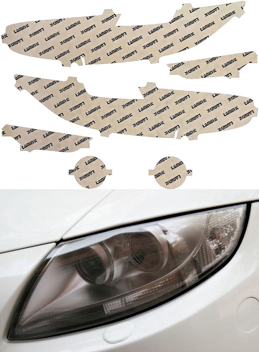 Honda Civic Coupe 16-20 Tint LED Headlight Covers Lamin-X H559T