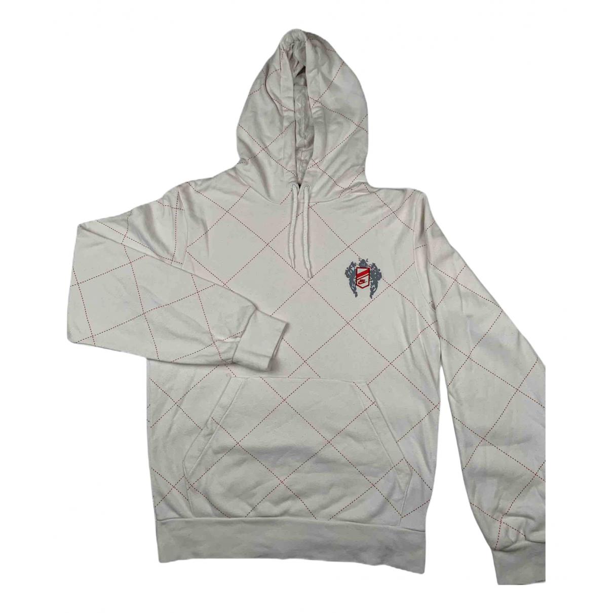 Nike \N Pullover.Westen.Sweatshirts  in  Weiss Baumwolle