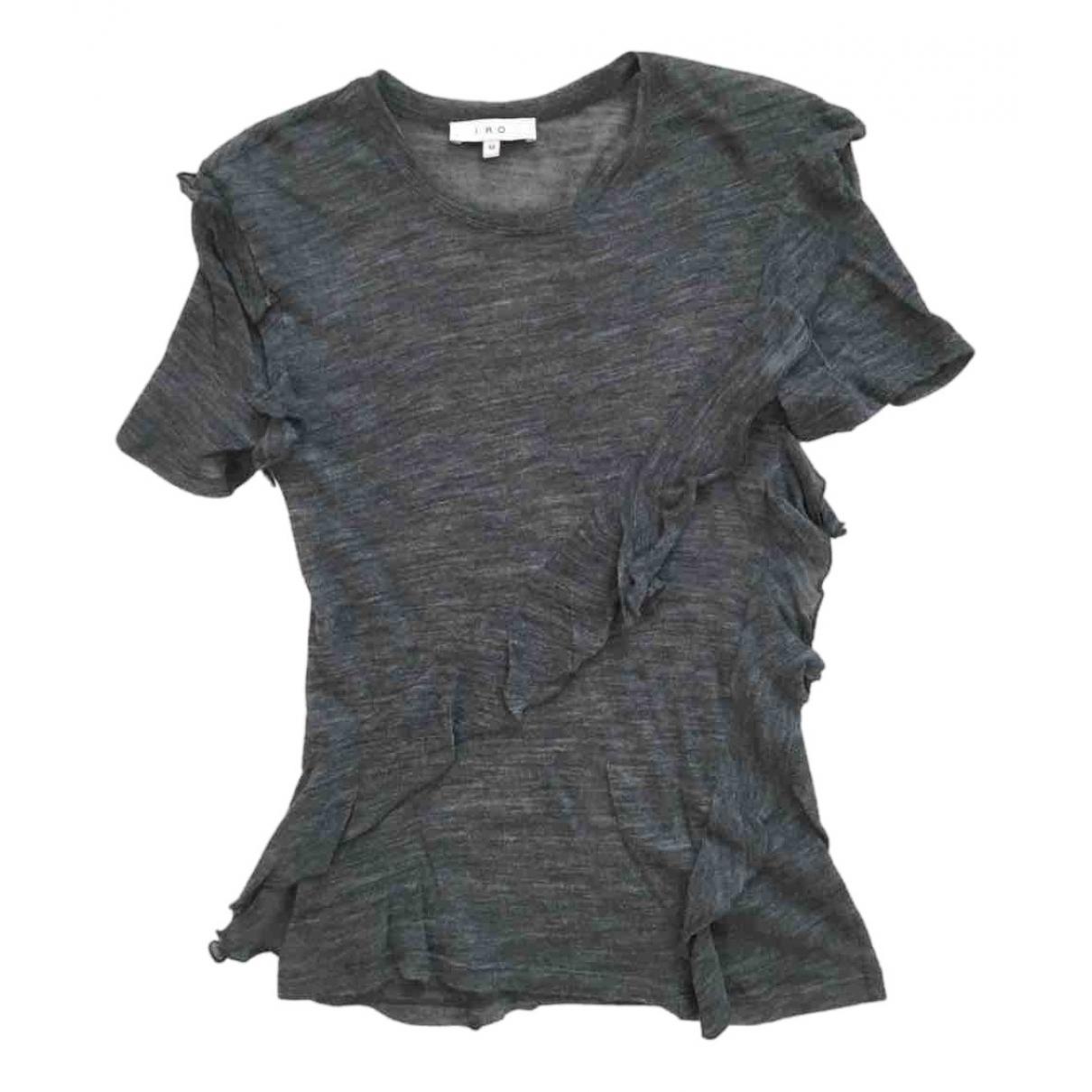 Iro - Pull   pour femme en laine - gris