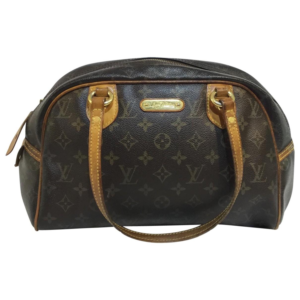 Bolso  Montorgueil de Lona Louis Vuitton
