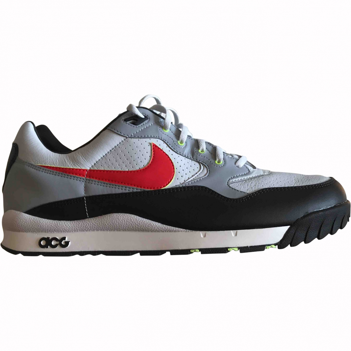 Nike Acg \N Multicolour Leather Trainers for Men 14 US