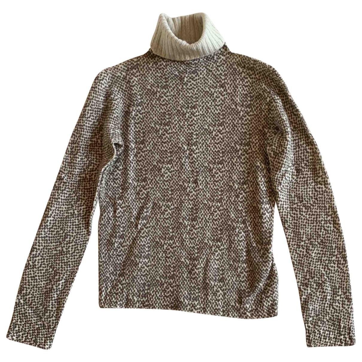 Agnona \N Pullover in  Braun Kaschmir