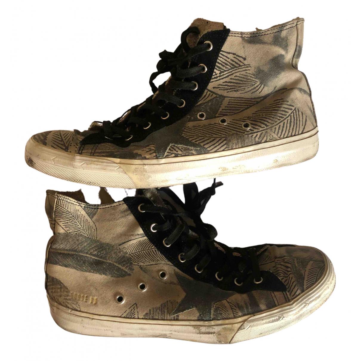 Golden Goose Francy Sneakers in  Bunt Leinen