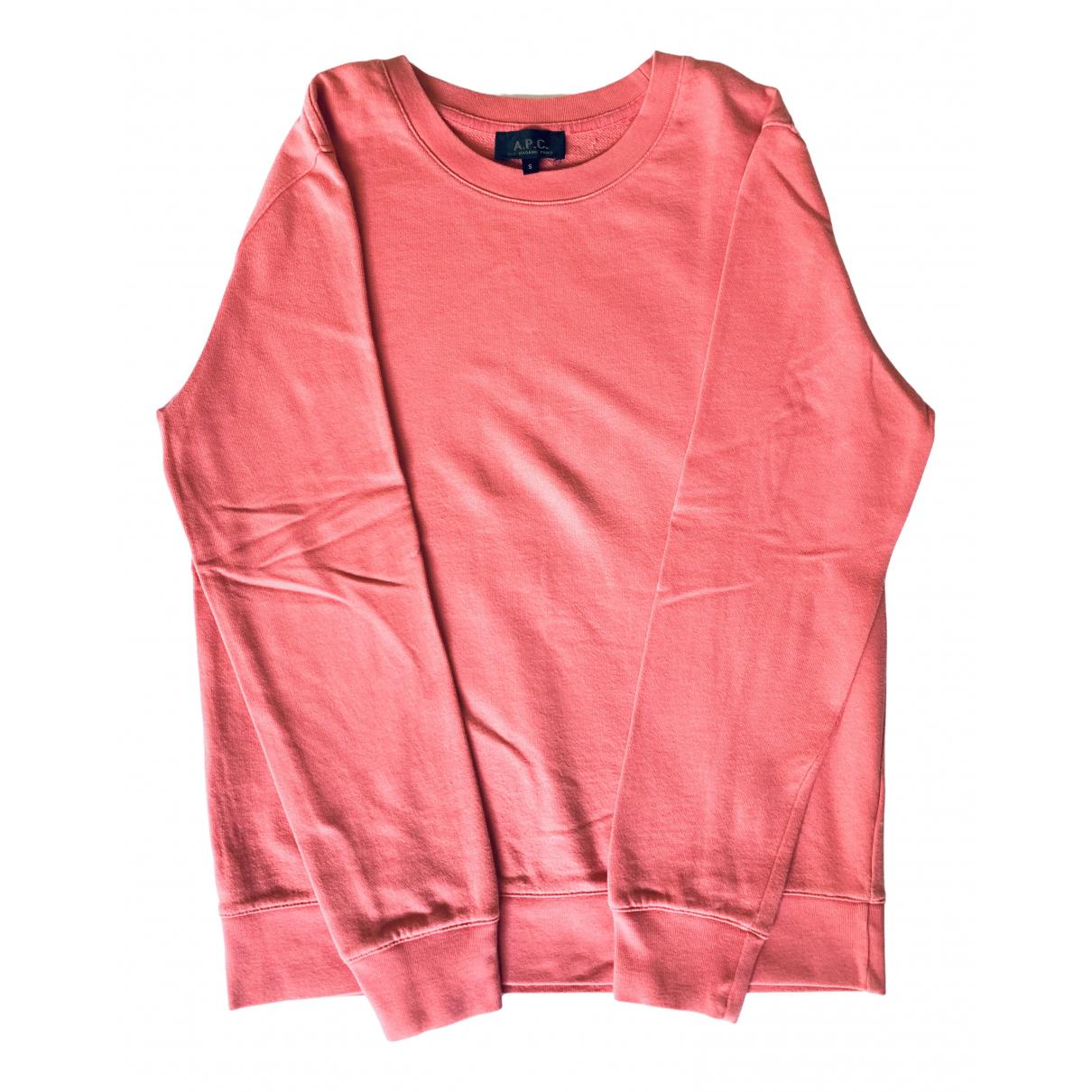 Apc - Pulls.Gilets.Sweats   pour homme en coton - rose