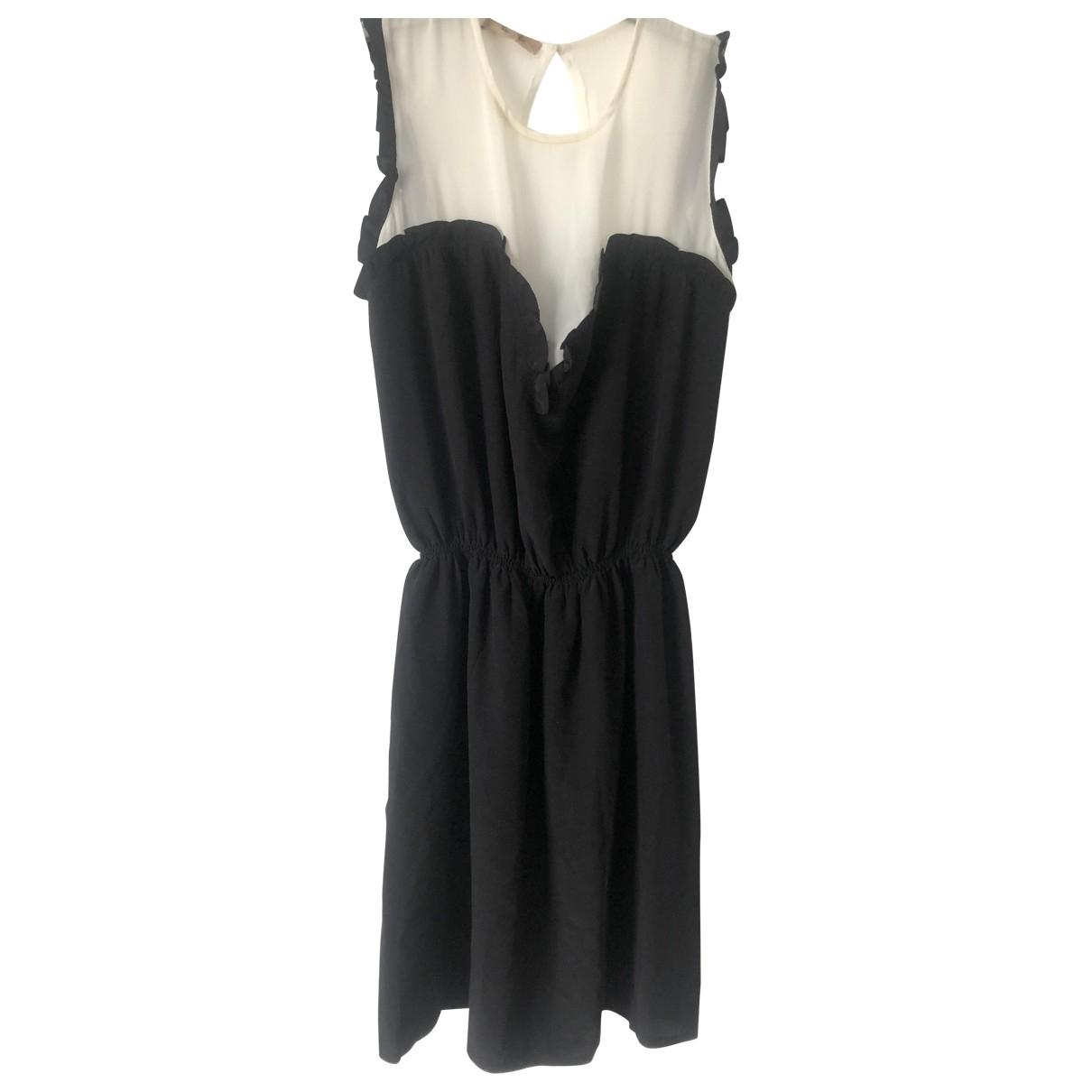 Bel Air - Robe   pour femme en soie - noir