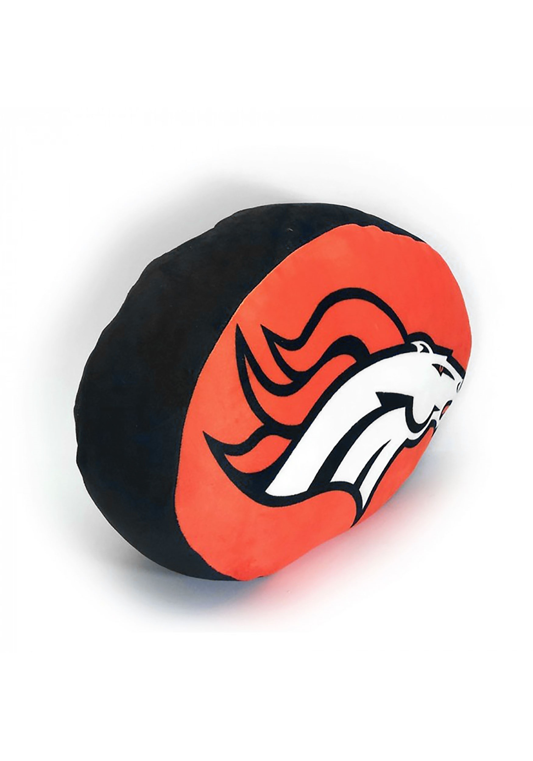 Denver Broncos Cloud Logo Pillow