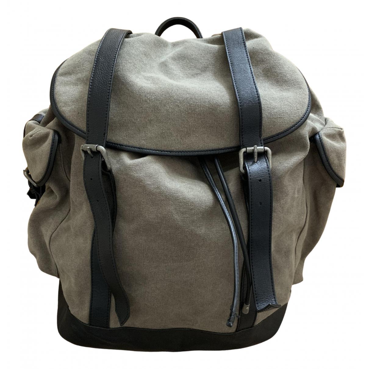 The Kooples N Khaki Cotton bag for Men N