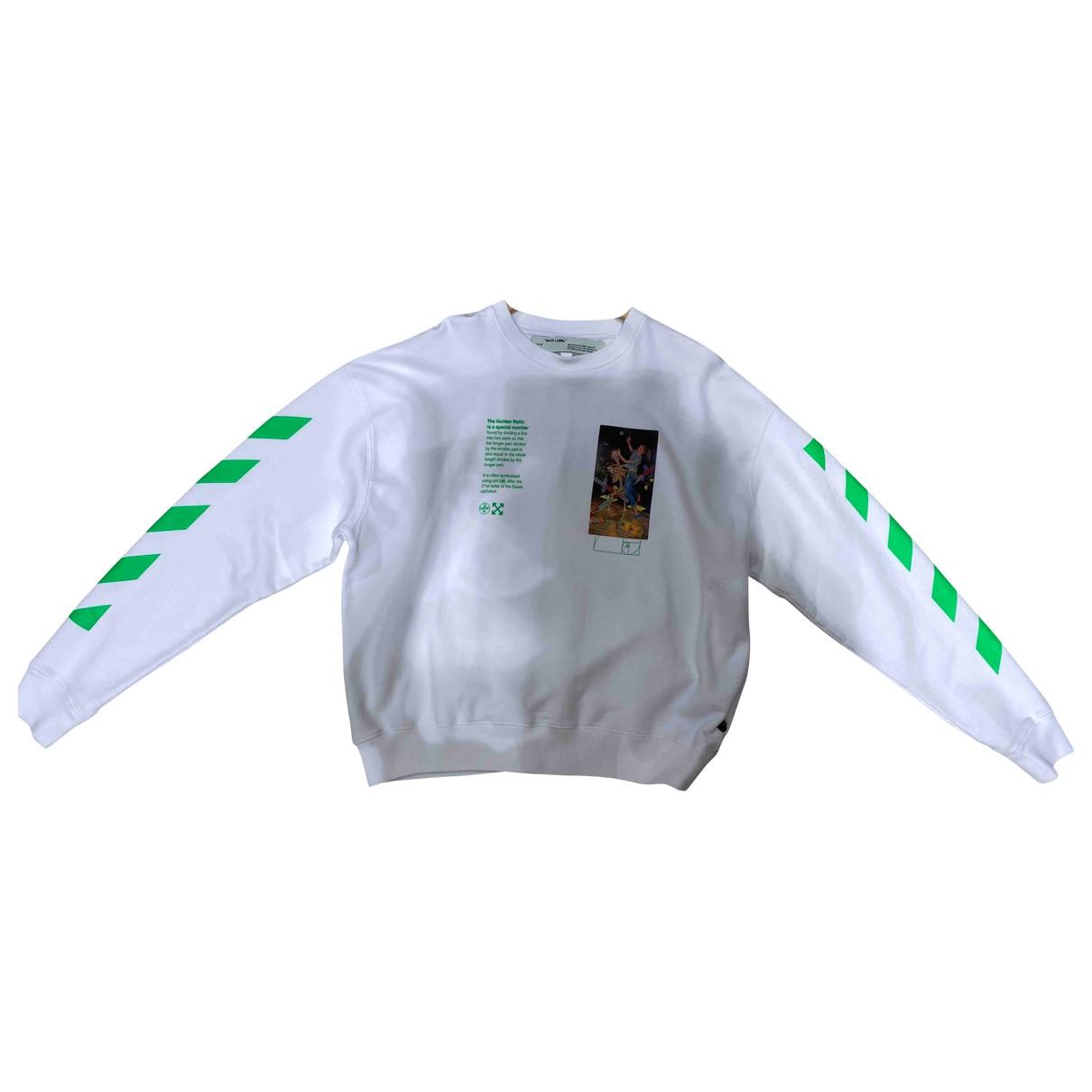Off-white - Pulls.Gilets.Sweats   pour homme en coton - blanc