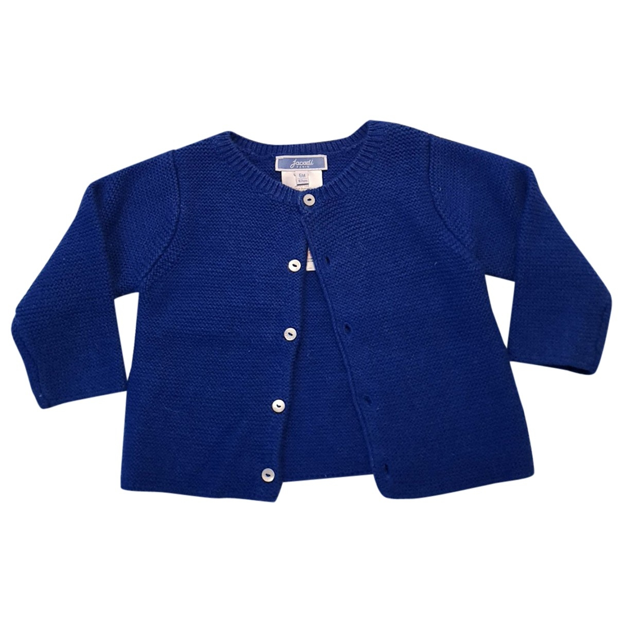 Jacadi \N Blue Wool Knitwear for Kids 6 months - up to 67cm FR