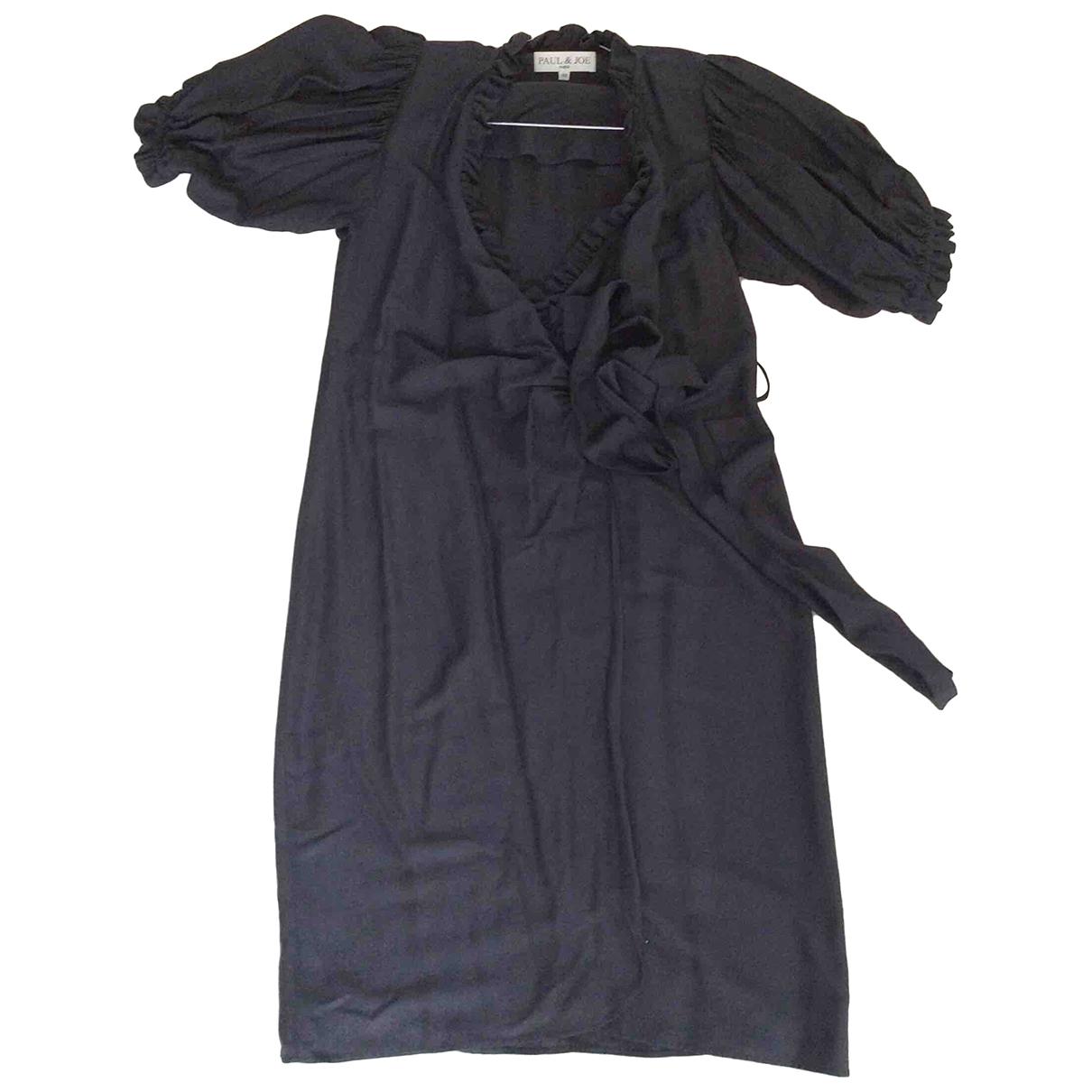 Paul & Joe \N Kleid in  Schwarz Viskose